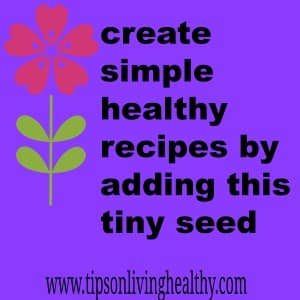 create simple healthy recipes